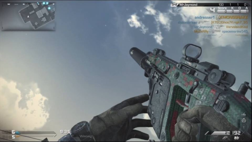 Call of duty ghosts christmas sweater gun camo spotted online