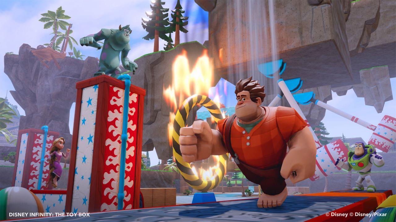 New Disney Infinity Figures And Power Discs Include Wreck