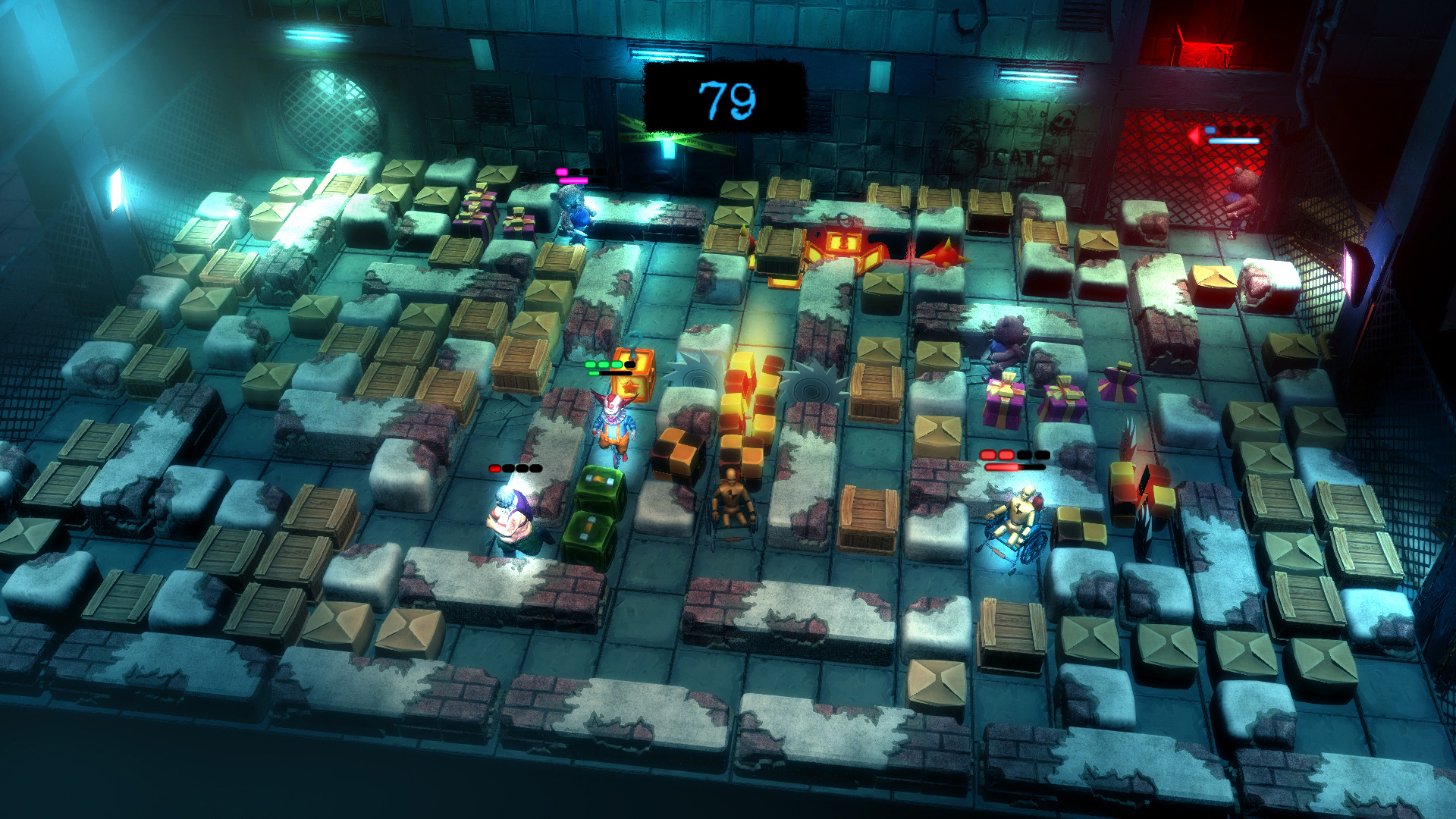 Basement Crawl Ps4 Gets First Screens Showing Multiplayer