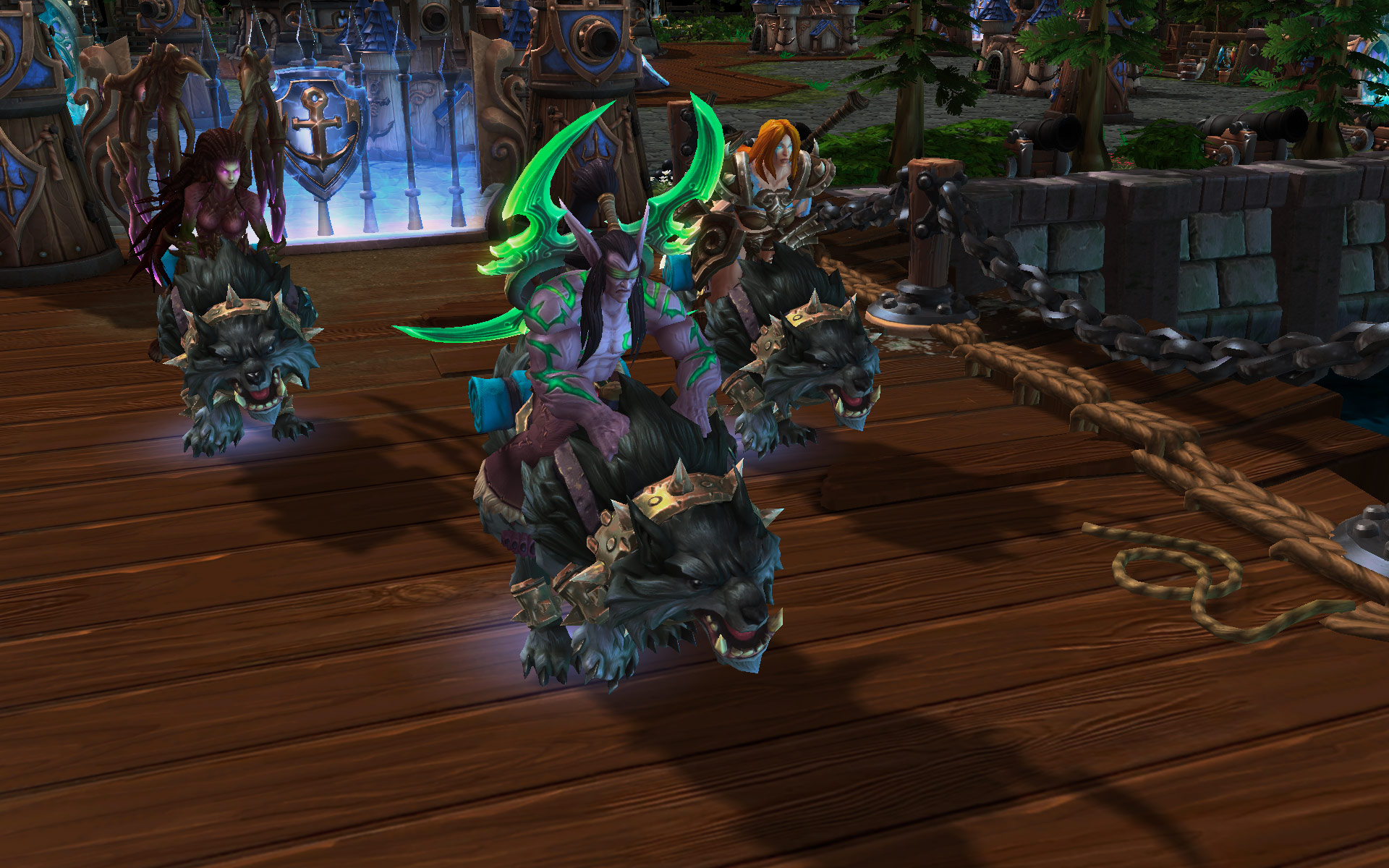 Heroes Of The Storm Screenshots Show Various Characters