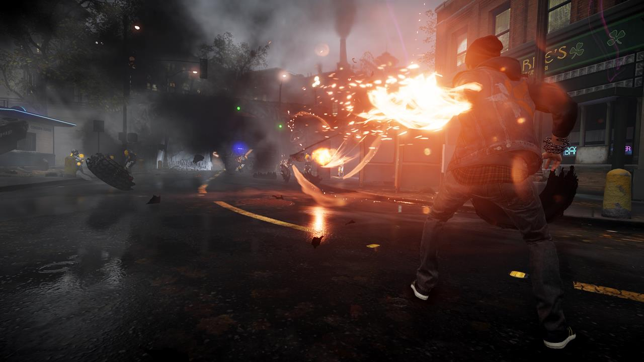 Pubg Neon Wallpaper: InFamous: Second Son Screens Show More Neon Powers And