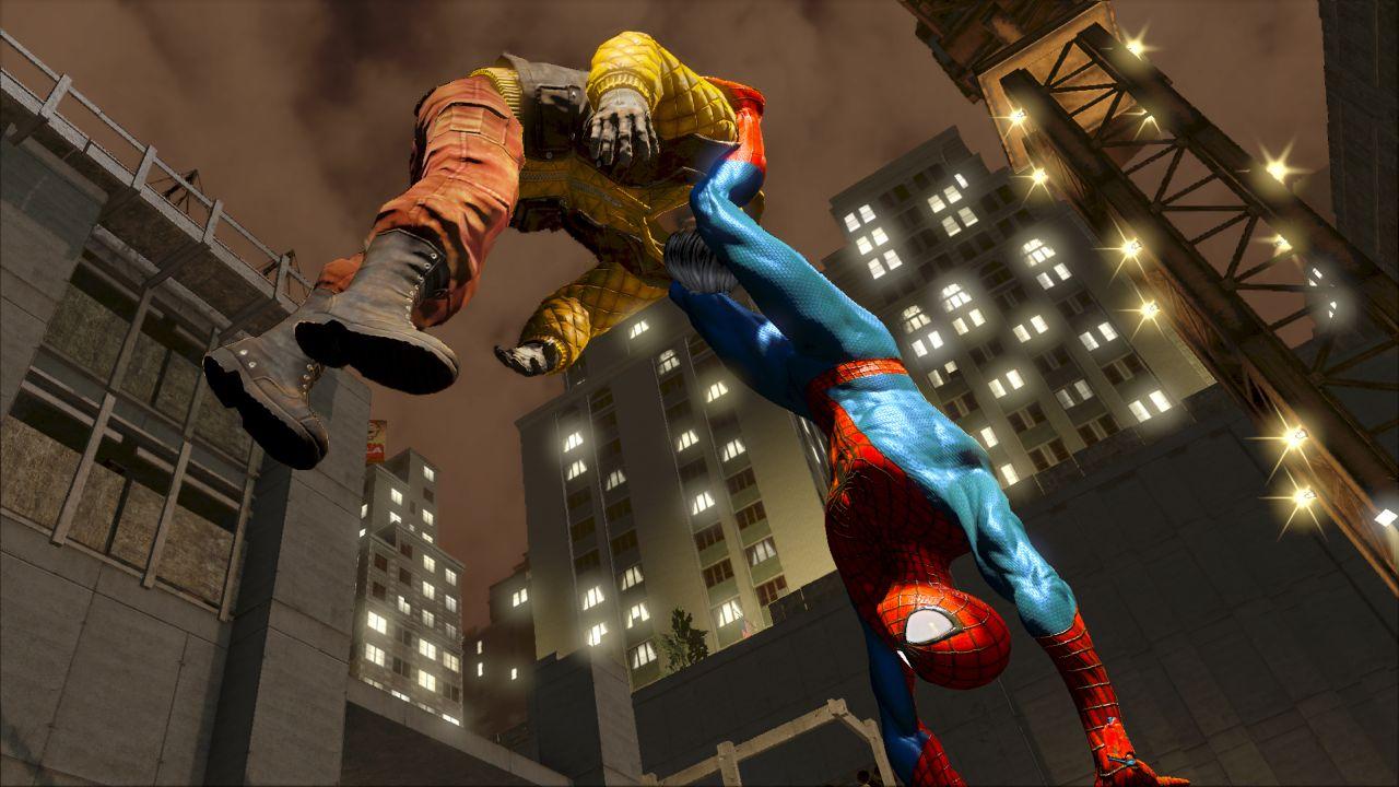 The Amazing Spider-Man 2 screenshots show Kraven the ...