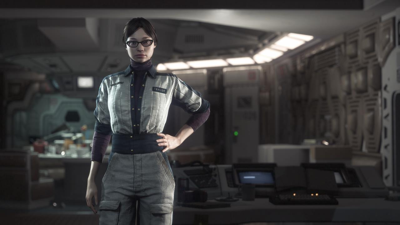 Alien  Isolation gameplay and screens reveal Amanda Ripley  amp  her    Alien Isolation Amanda Ripley