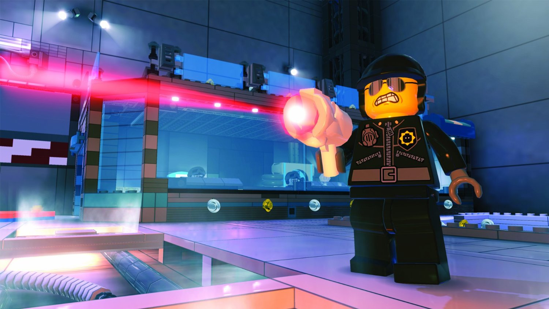 Lego Movie Videogame screens show Batman, brick explosions ...