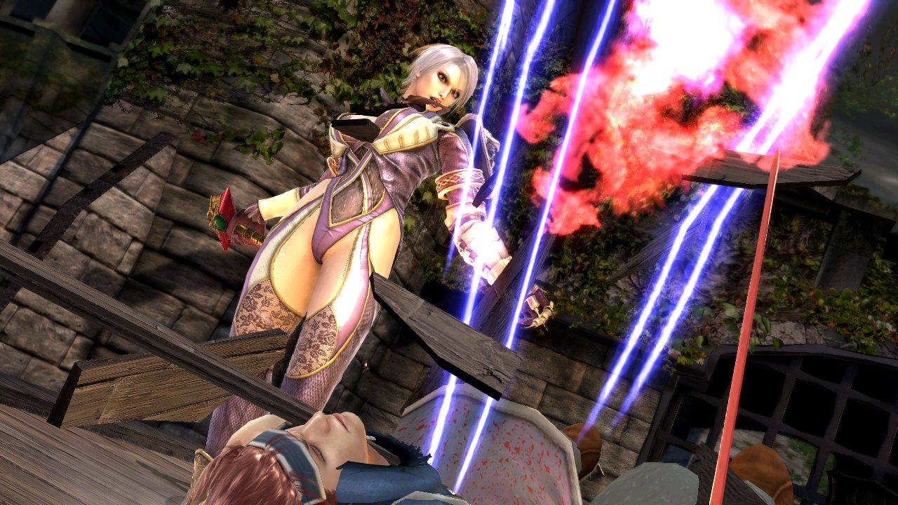 Soul Calibur Lost Swords Gets Ivy Screens Amp Trailer