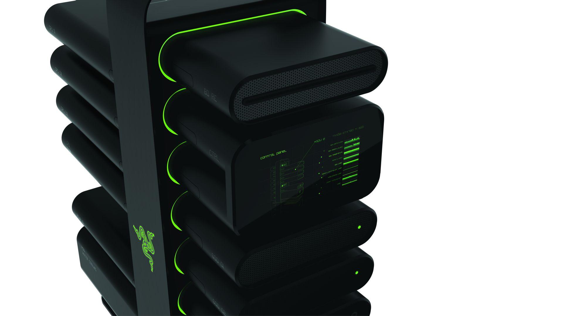 Razer S Project Christine Makes Pc Modularity Easy Vg247