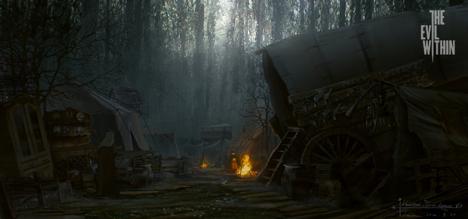 The Evil Within Concept Art Surfaces Vg247
