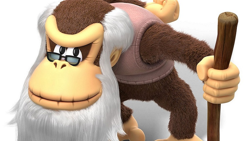 Cranky Kong Works Out That New Fangled Twitter Thing Vg247