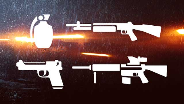 The packs offer various weapons and are designed to allow you to