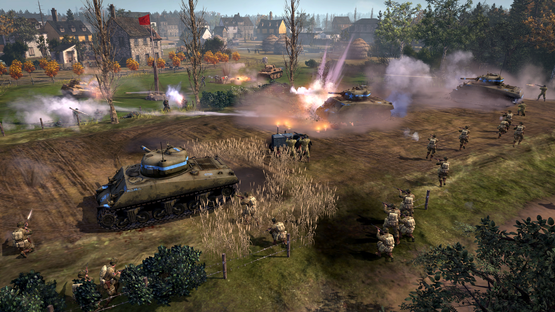 relic reveals company of heroes 2 the western front armies vg247. Black Bedroom Furniture Sets. Home Design Ideas