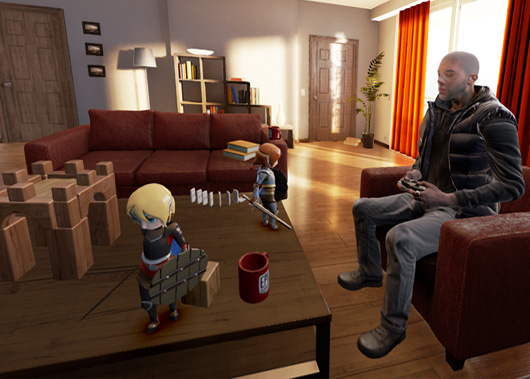 Couch Knights Is A Ue4 Developed Oculus Rift Title From