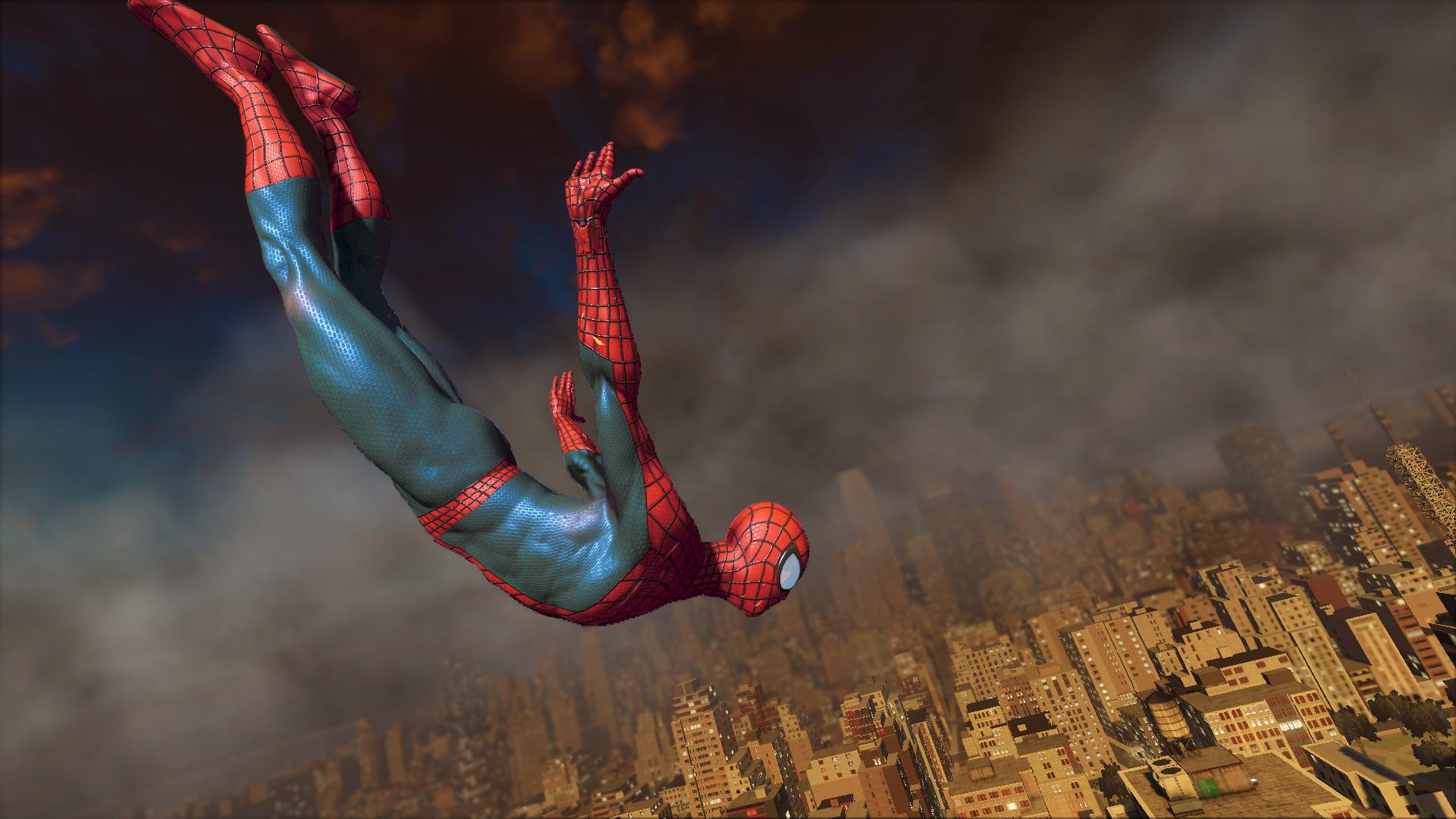 amazing spider man 2 footage shows web swinging combat. Black Bedroom Furniture Sets. Home Design Ideas