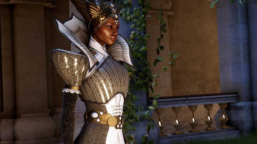 Meet Vivienne the mage in this Dragon Age: Inquisition ...