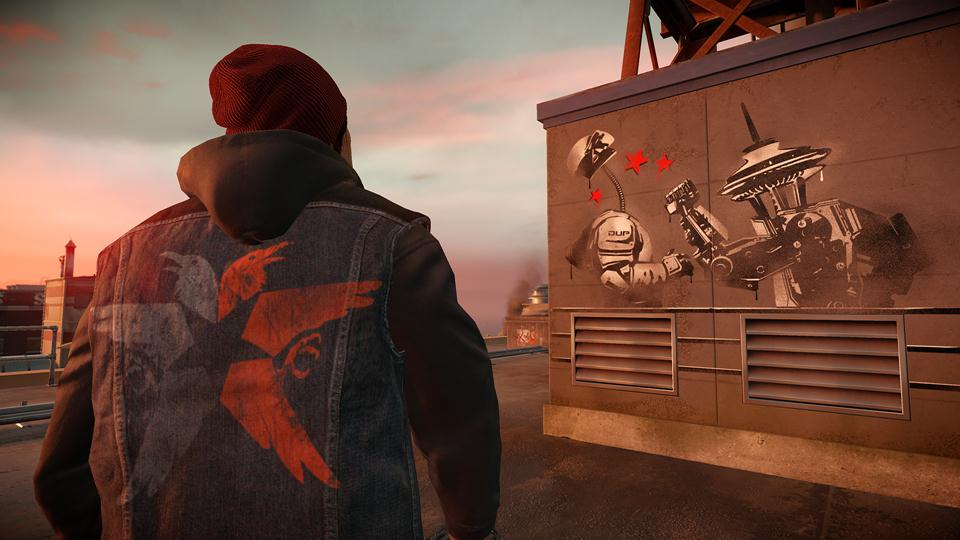 Infamous Second Son Go Fetch Neon Amp Light Speed Power