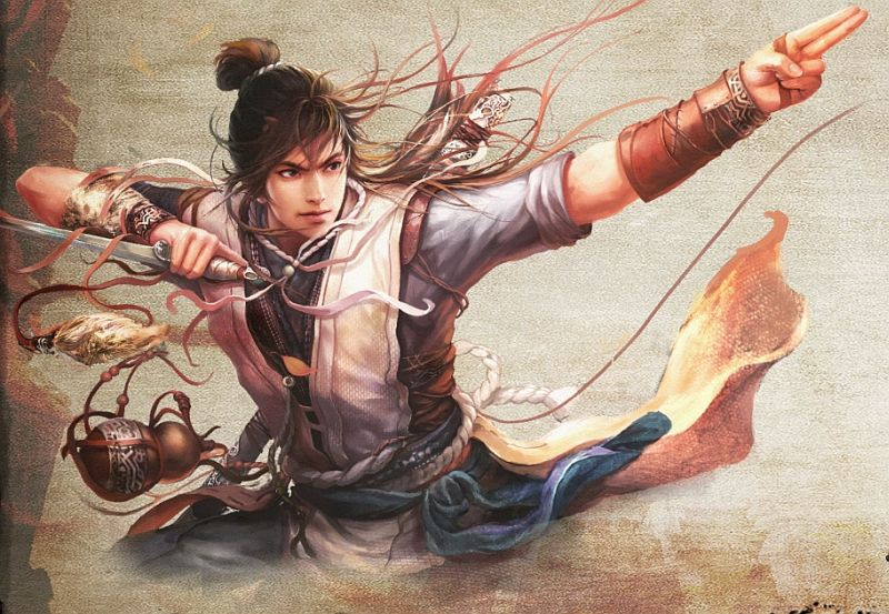 Swordsman Mmorpg Based Off Louis Cha Novels Announced By