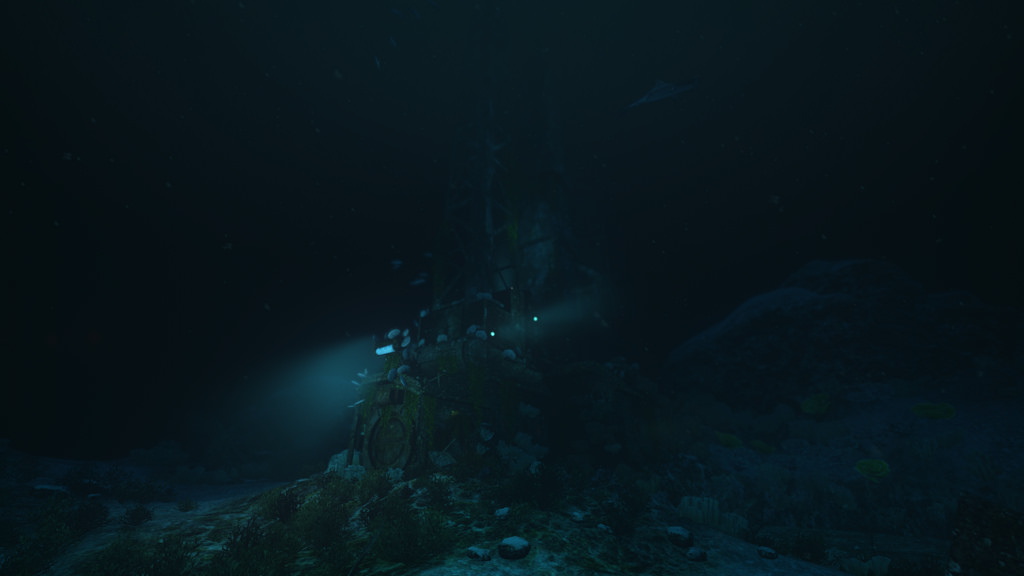 The ocean depths were the perfect place to explore in a horror game