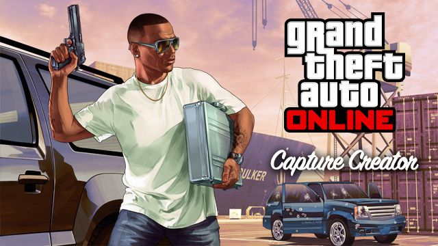grand theft auto online 39 s capture creator update now available vg247. Black Bedroom Furniture Sets. Home Design Ideas
