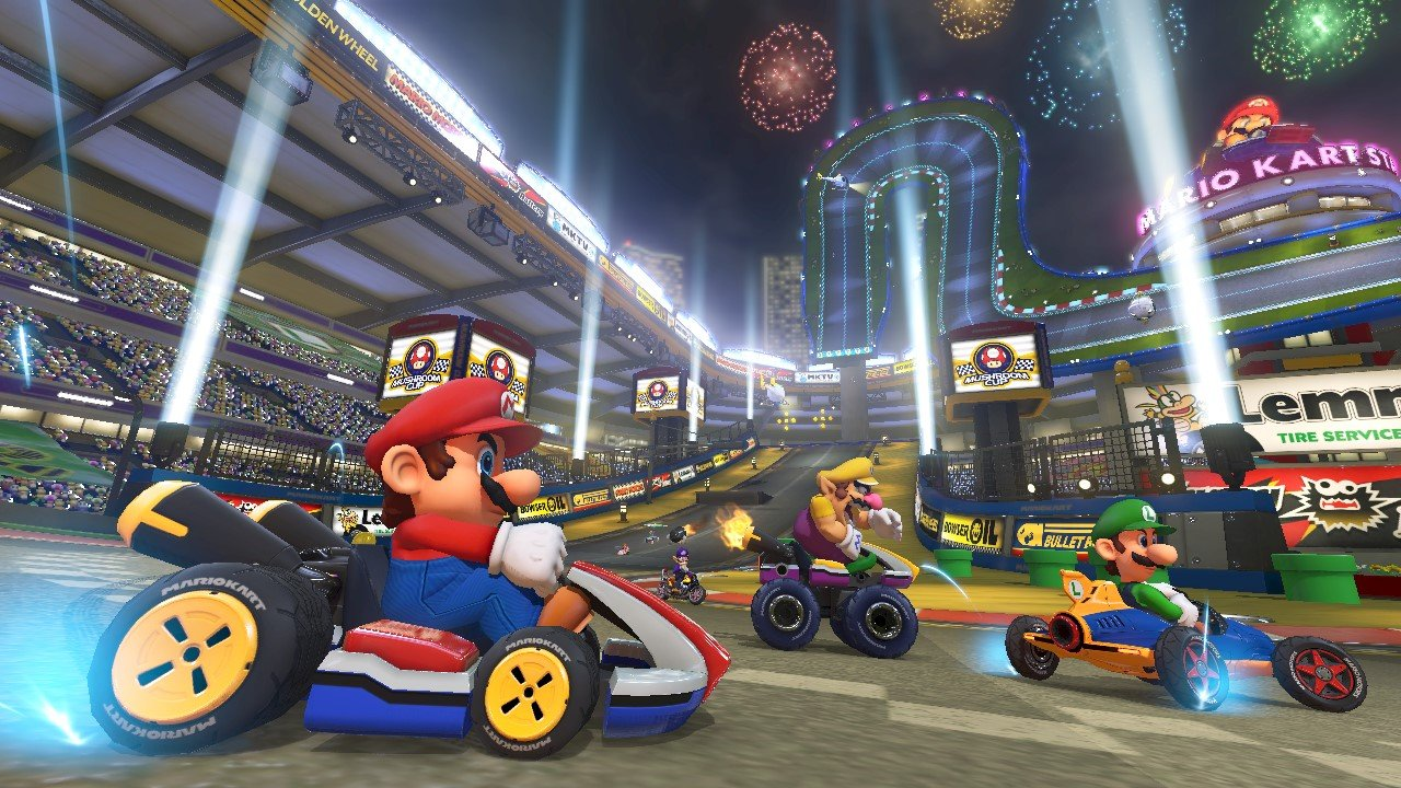 mario kart 8 gets info screen blow out as new round of previews land vg247. Black Bedroom Furniture Sets. Home Design Ideas
