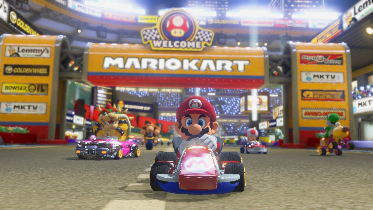 Mario Kart 8 Gets Info Amp Screen Blow Out As New Round Of