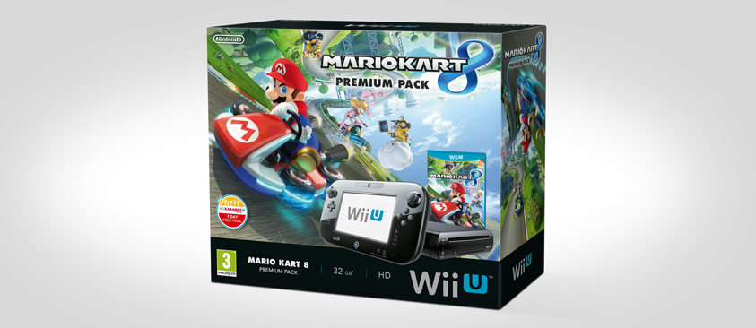 Updated mario kart 8 wii u premium console bundles announced pack shots trailer inside vg247 - Mario kart 8 console bundle ...