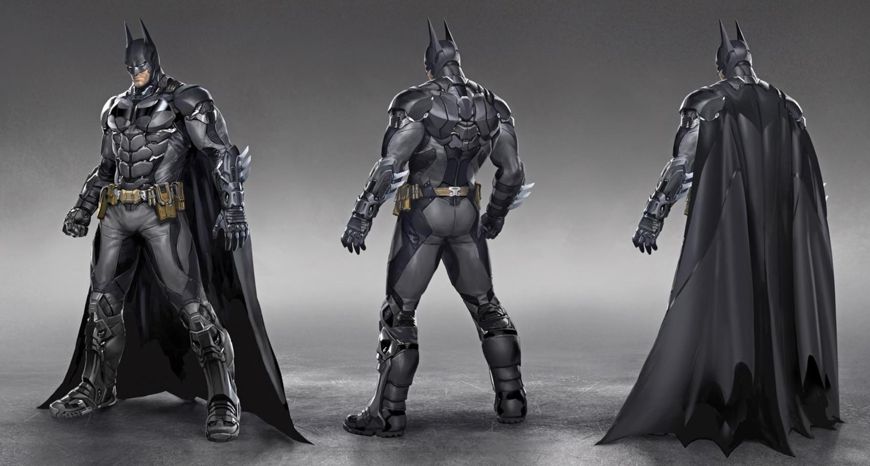 New Batman Arkham Knight Screenshots Show Off Batmobile