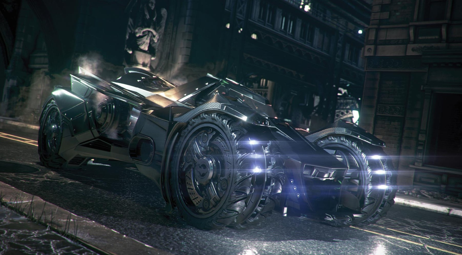 First look at Batman: Arkham Knight Batmobile challenges ...