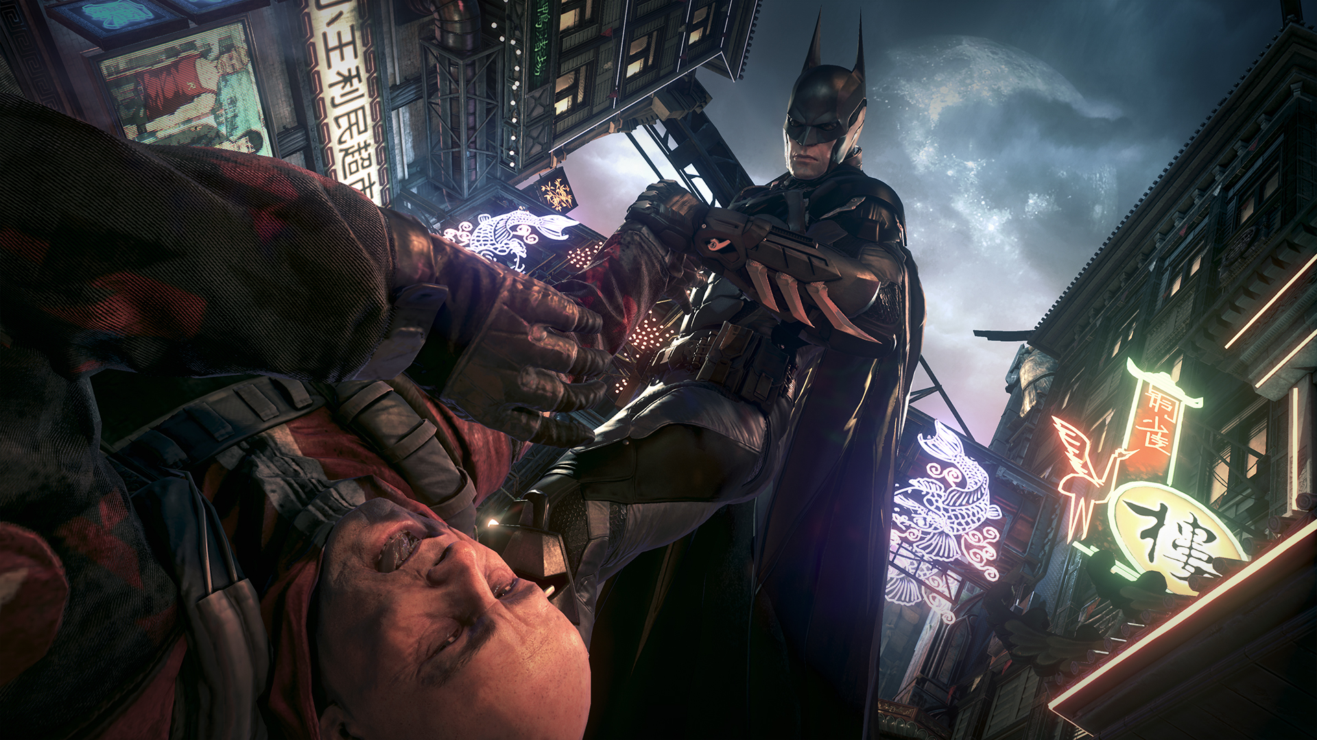 new batman arkham knight screenshots show off batmobile
