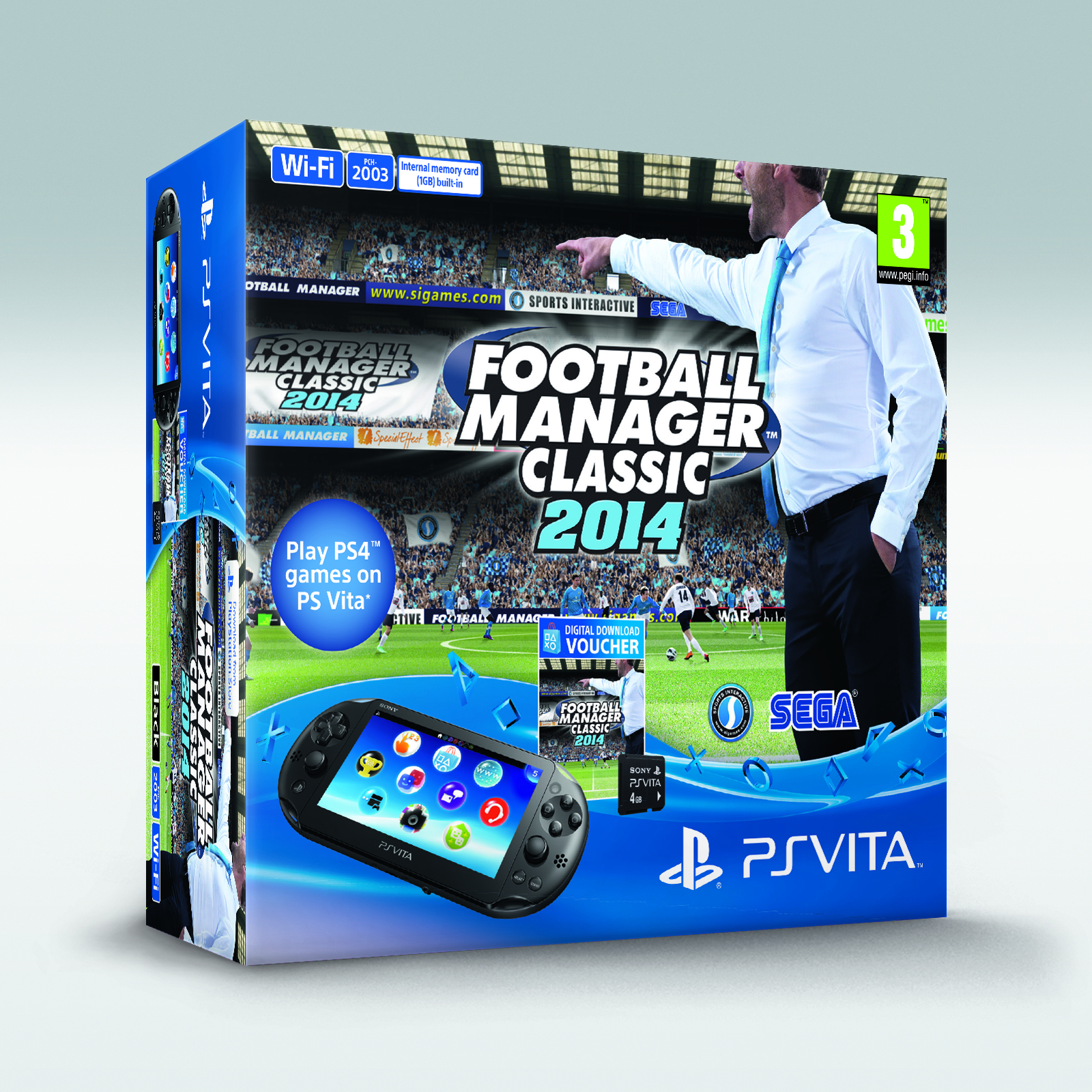 Football Manager Classic 2014 PS Vita console bundle