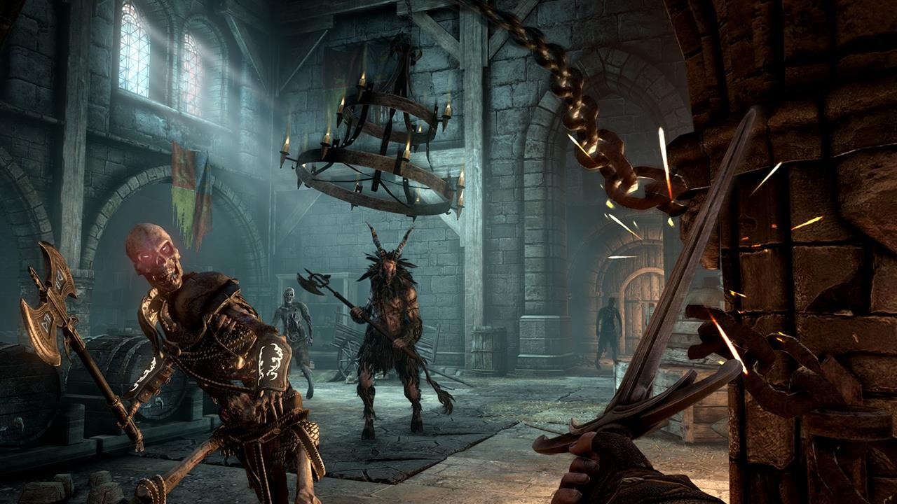 Hellraid Re Announced For Pc Ps4 And Xbox One Following