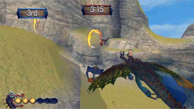 how train your dragon 2 games
