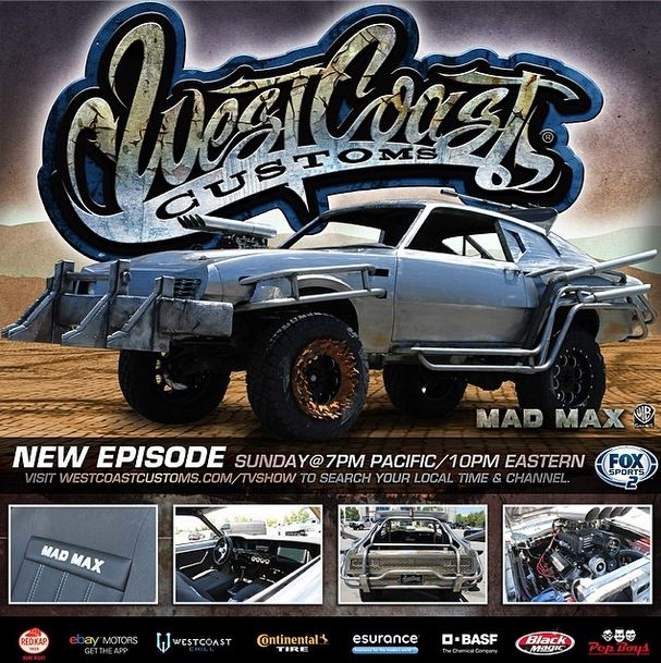 Mad Max Car Being Re Made On Next Episode Of West Coast
