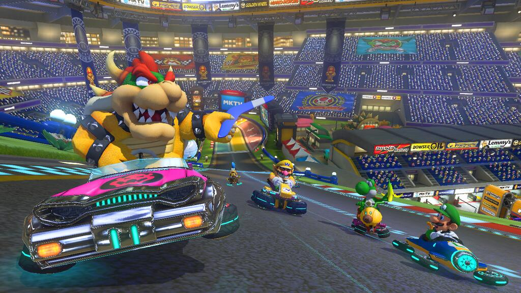 nintendo is banking on mario kart 8 to rescue the wii u vg247. Black Bedroom Furniture Sets. Home Design Ideas