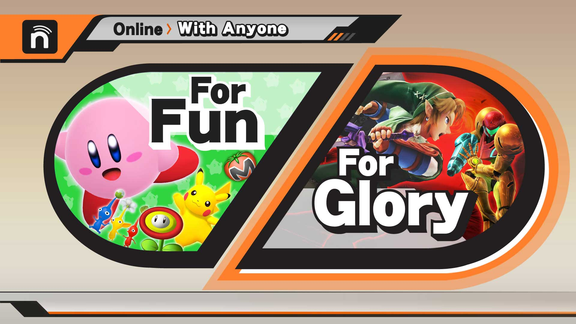 smash 3ds for glory matchmaking Smash super bros 3ds coming this summer, wii u this winter  for glory is  played on the final destination stage only with no item, possible 1-on-1 matches,  and all  there will still be online matchmaking of some sort.