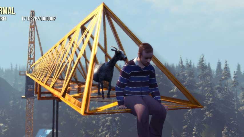Goat Simulator has a plot. Wait, no, sit down; let me explain you a