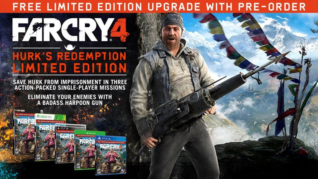 Far Cry 4 release date announced for November on PC ...