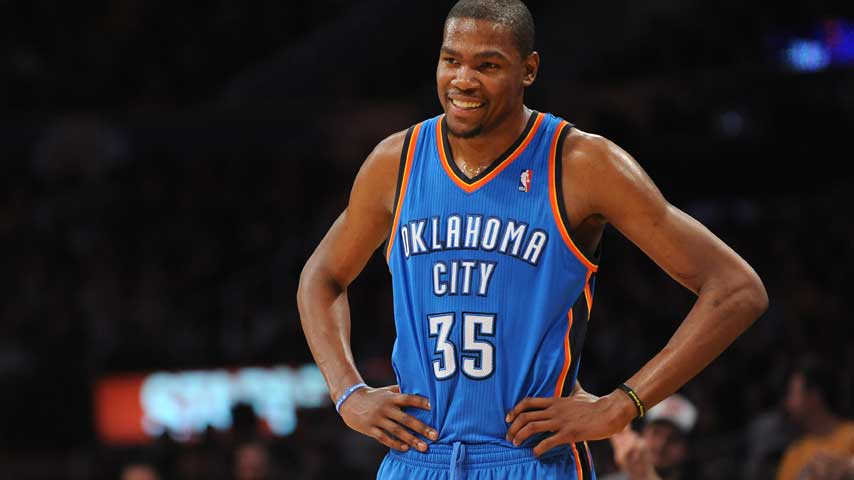 Kevin Durant, the NBA's newly crowned Most Valuable Player, has been ...