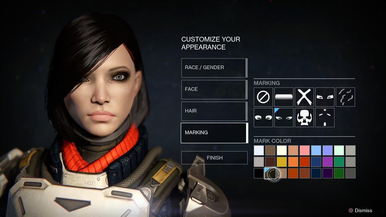 Destiny Gets Time Lapse Alpha Footage Avatar Creation