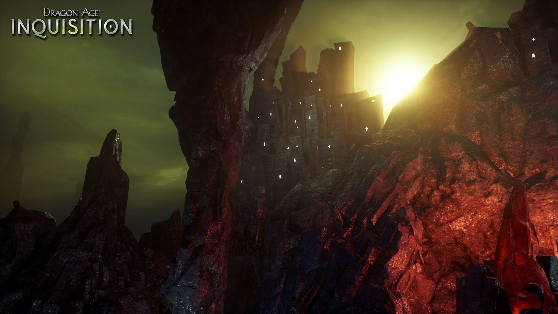 These Dragon Age Inquisition screens show a dark treacherous world VG247