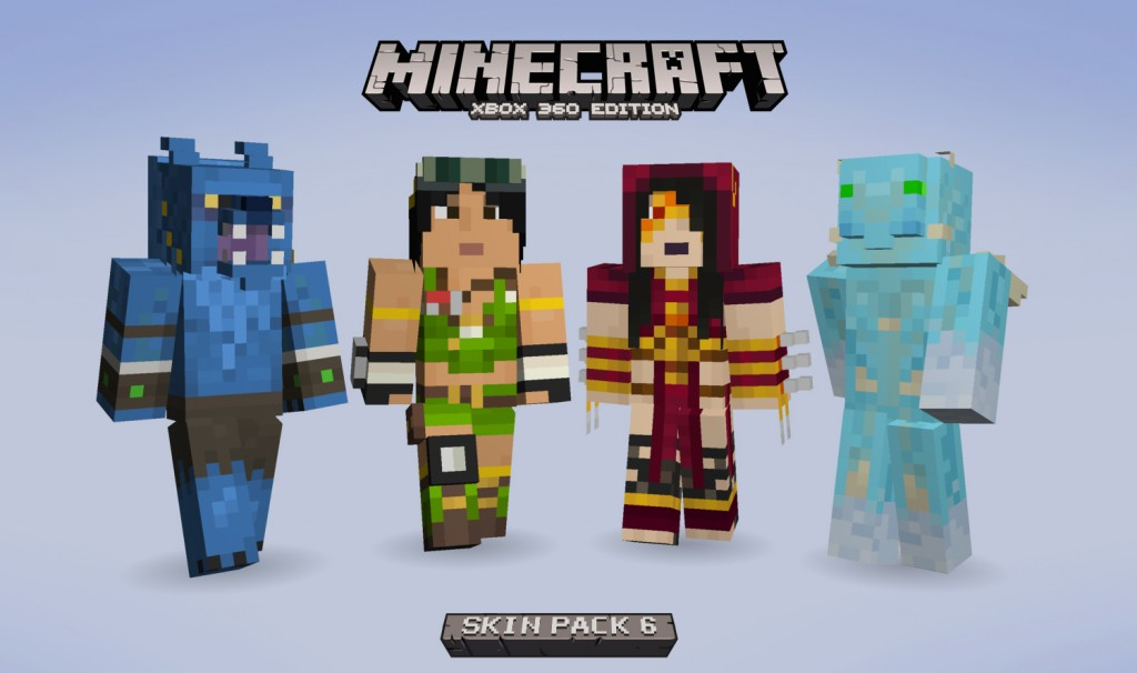 Mirrors edge and killer instinct skins coming to minecraft xbox 360