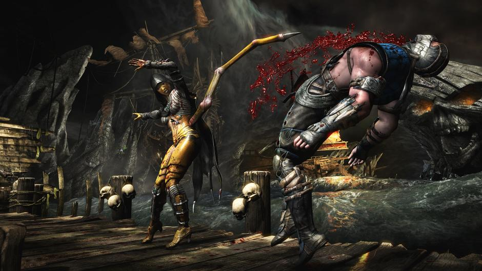 Blood flies in these new Mortal Kombat X new-gen screens ...