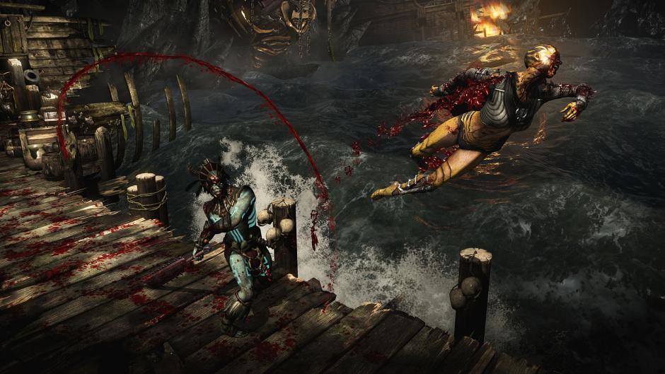 Mortal kombat sony blade vs kano - 3 9