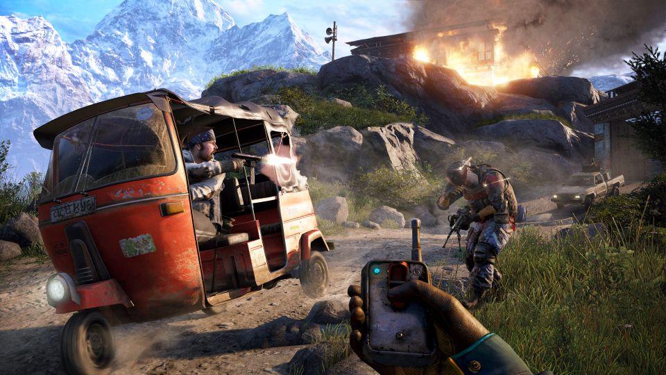 Far Cry 4: I Shot An Elephant In The Ass And It Felt Like
