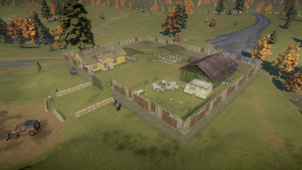 You Can Totally Build A Mansion In Zombie Sandbox H1z1 Vg247