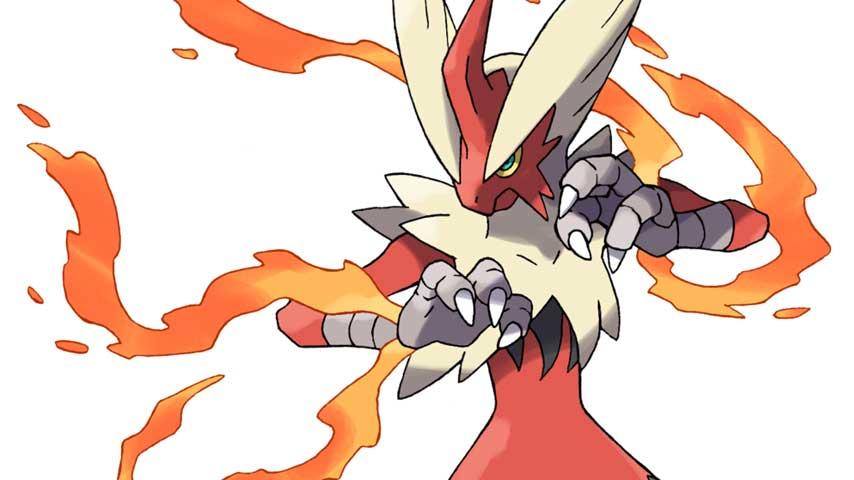 Check out four more mega evolutions from pokemon omega ruby alpha sapphire vg247 - Pokemon mega evolution blaziken ...