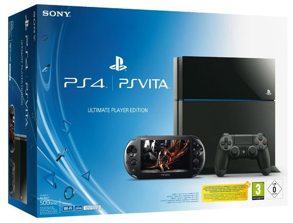 ps4 and vita ultimate player console bundle is real pack art revealed vg247. Black Bedroom Furniture Sets. Home Design Ideas