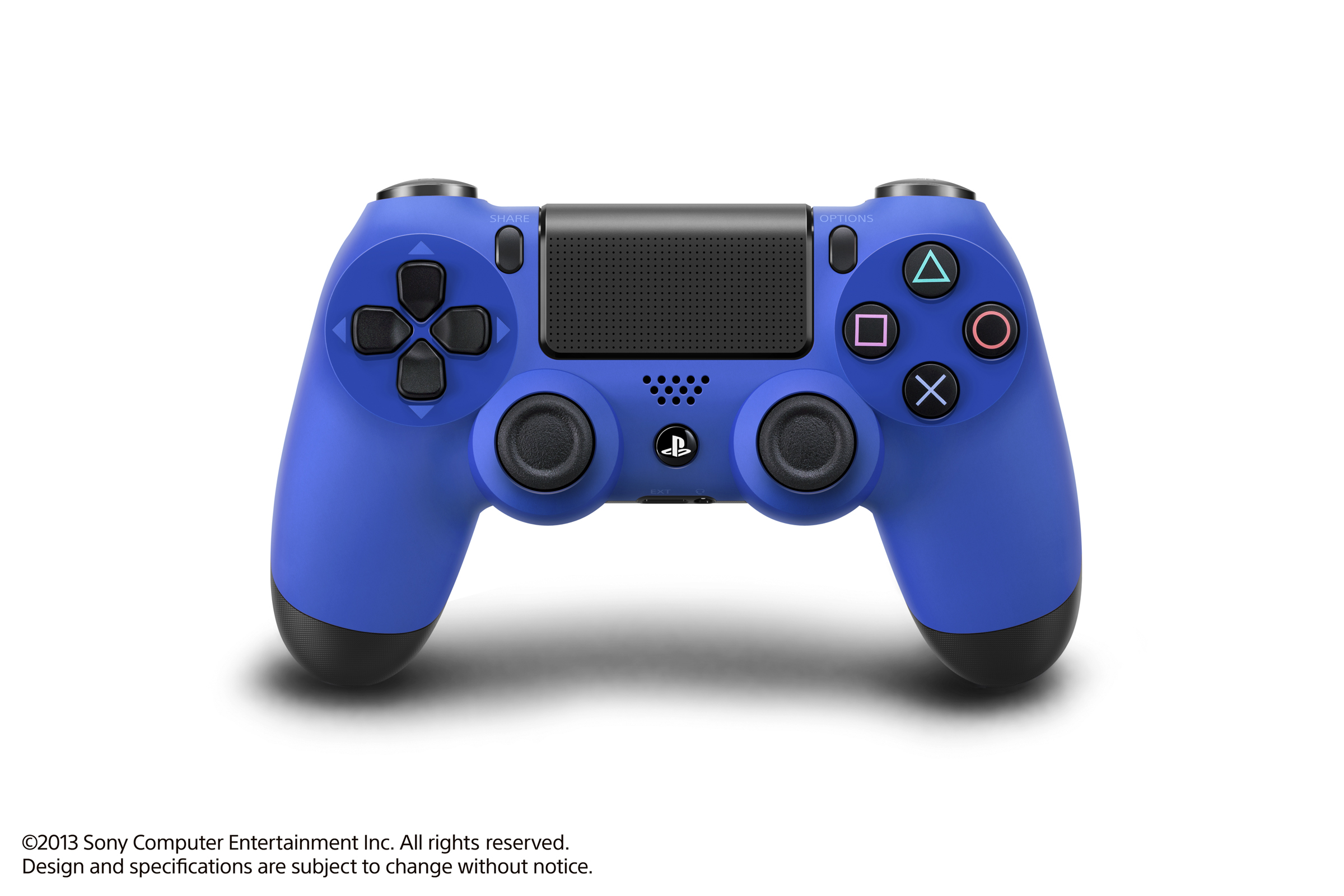 Don't feel blue, coloured PS4 controllers are on the way ...