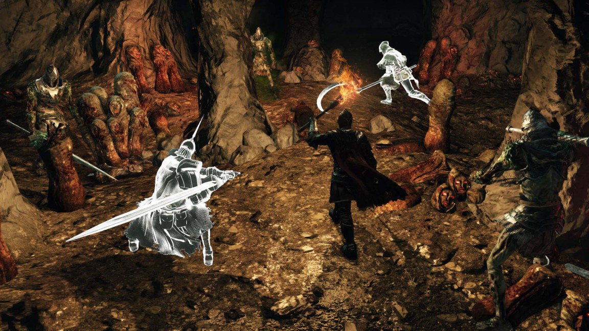 Dark Souls Ii Crown Of The Sunken King Cave Of The Dead