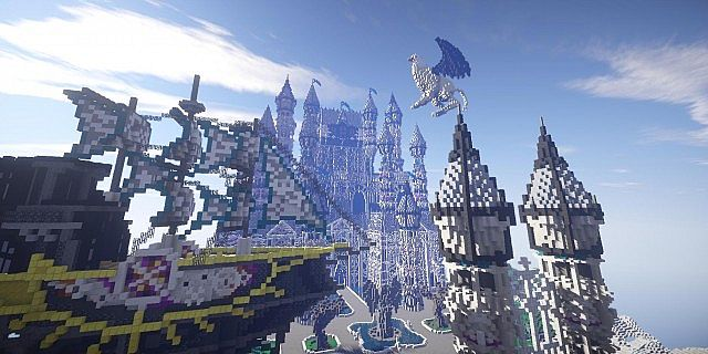 Some Of These Minecraft Floating Island Builds Are Amazing