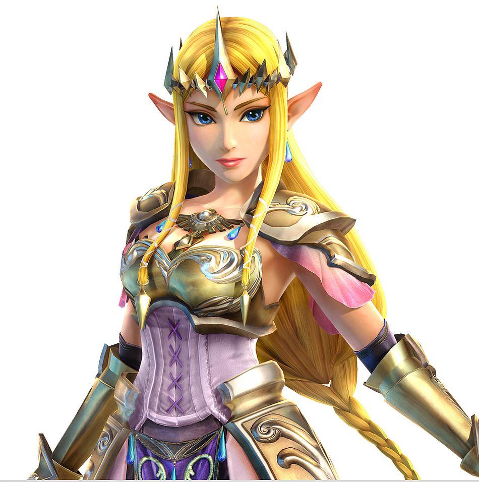 Princess Zelda uses th...