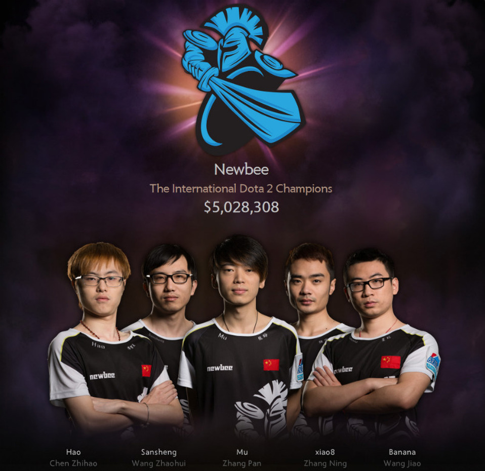 Dota 2 The International 2014 Team Liquid: Newbee Wins Record $5m Prize To Become Grand Champions At